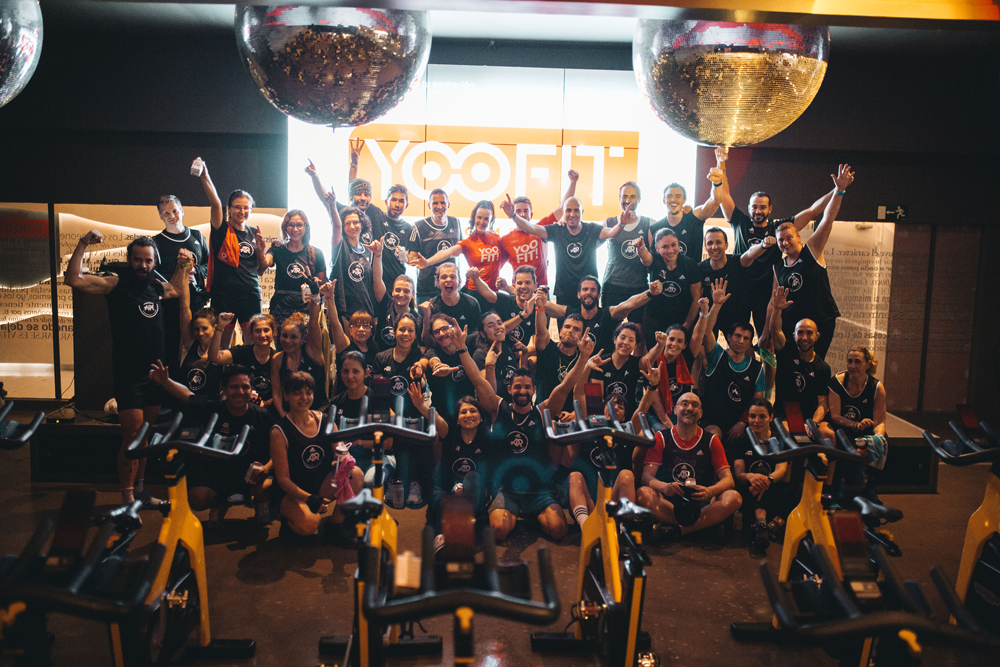 Sesion de spinning o ciclo en yoofit boutique gym 08
